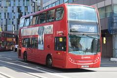 AL T152 @ West Croydon bus station (ianjpoole) Tags: arriva london alexander dennis enviro 400 lj60avz t152 working route 198 shrublands bramble close spring park talbot road thornton heath