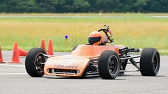 Fast open-wheeler (R.A. Killmer) Tags: cone killer classic 13 2018 race racer racing fast openwheel blur orange bright quick course drive driver autocross scca central pa midstate airport