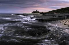 Bamburgh II (chrismarr82) Tags: nikon northumberland castle beach sunset