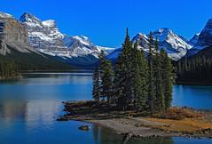Spirit island (Robert Grove 2) Tags: jasper canada alberta perfect daylight clear sunshine nature