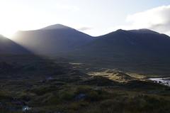 Light over the pass (Sundornvic) Tags: isle skye scottland island mountains morning light sun shine water rocks wild