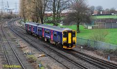 Southampton   150216 (davidhann34016) Tags: 150216 class150 fgw southampton