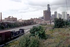 IC freight SCAL Aug 2001 (jsmatlak) Tags: chicago ic downtown illinois central yards train railroad freight