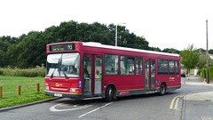 Change of Body (londonbusexplorer) Tags: goahead london dennis dart slf plaxton pointer ldp191 sn51uad romford queens hospital county park estate tfl buses