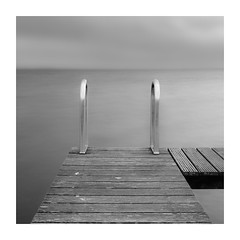Time for a bath? (geraldkoenigsohn) Tags: contrasts structures fujixe1 monochrome fineart longexposure seaside blackandwhite