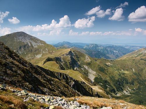 Tatry widziane spod Błyszcza