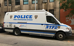 NYPD Force Investigation Division Freightliner Van (NY's Finest Photography) Tags: highway patrol state nypd fdny ems police law enforcement ford dodge swat esu srg crc ctb rescue truck nyc new york mack tbta chevy impala ppv tahoe mounted unit service squad dcu