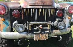 The Friendly State (Von Fumetti) Tags: vonfumetti fumetti von chevrolettruck chevrolet chevy armyvehicle armytruck army saltlake magnum utah friendlystate bullets rust truck carshow show car
