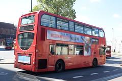 AL T128 @ West Croydon bus station (ianjpoole) Tags: arriva london alexander dennis enviro 400 lj10hvh t128 working route 250 park street croydon brixton station
