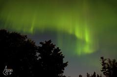 (Northern Lights)Aurora Borealis over South Bay Munising, MI (ats8110) Tags: auroraborealis northernlights southbay munising michigan water lakesuperior d700 nikon