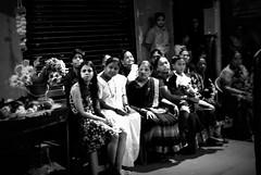 Captive onlookers (magiceye) Tags: audience onlookers people holi koli parade festival vesave versova mumbai monochrome blackandwhite india bnw street streetphoto