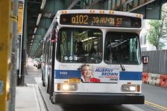 IMG_1609 (GojiMet86) Tags: mta nyc new york city bus buses 2006 orion vii genii hlf 3592 q102 31st street broadway
