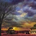 Pink House at Sunset thumbnail