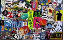 stickercombo (wojofoto) Tags: amsterdam nederland netherland holland streetart stickers sticker stickercombo combo wojofoto wolfgangjosten wojo