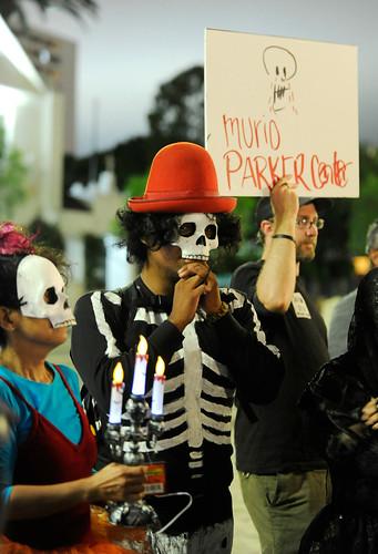 Parker Center Funeral