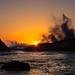 Sunset Oregon Coast