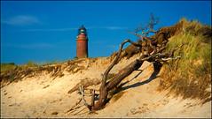 Hoch im Norden (angelofruhr) Tags: strand leuchtturm beach ostsee balticsea darss darsserort born deutschland germany mecklenburg