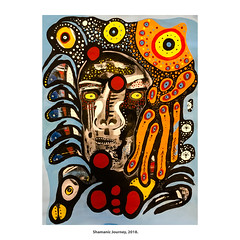 Shamanic Journey, 2018. (Paul Turgeon) Tags: paulturgeon painting art abstractart abstract expressionism contemporary shadows shadow shaman shamanic journey