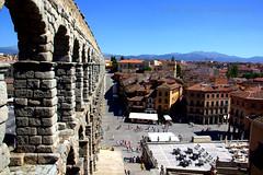 Acueducto Romano de Segovia,Spain (gilmavargas) Tags: segovia spain acueductosromanos landscape europa segoviaaqueduct architecture smugmug madrid