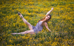 Beautiful Classical Ballet Ballerina Model Venus! Pretty Tiny Dancer California Spring Superbloom Wildflowers! Ballet Pointe Shoes Leotard Professional Ballerina Goddess! Sony A7 R Carl Zeiss F1.8 Sony 55mm F1.8 Sonnar T FE ZA Prime Lens 45SURF dx4/dt=ic (45SURF Hero's Odyssey Mythology Landscapes & Godde) Tags: beautiful classical ballet ballerina model venus tiny dancer california spring superbloom wildflowers pointe shoes leotard professional goddess sony a7 r carl zeiss f18 55mm sonnar t fe za full frame prime lens 45surf dx4dtic pretty