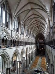 Salisbury Cathedral Nave (fraktalisman) Tags: salisbury cathedral spire england uk building nave church historic