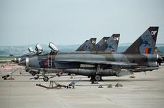 ALAN_POTTS_19810618_0001 (Alan Potts) Tags: rafleuchars leu egql leucharsstation adx xr725df englishelectriclightningf6 lightning lightningf6 ltf lightningtrainingflight royalairforce tbm tactiaclbombingmeet jet fighter fighterjet military aircraft aviation scotland alanpotts hasselbladx5 standrewsky160jx fife uk gbr