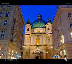 Vienna MMXVIII (tomraven) Tags: vienna cityscape wien building light lowlight bluehour tomraven aravenimage architecture q32018 olympus penf