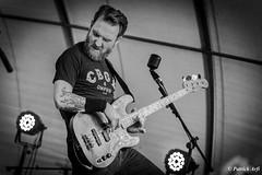 Power (Patrick ARFI) Tags: bass guitar concert music live rock cars black white bw musician
