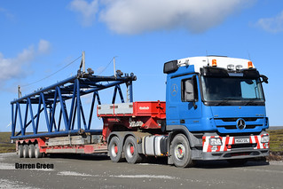 CHISHOLM'S RECOVERY SPECIALISTS MERCEDES ACTROS 550 V8 6x4 HG63 SXL