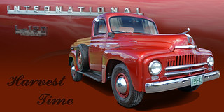 Harvest Time - 1957 International Harvester Pickup