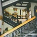 Lowell Massachusetts  - Historic City Hall  - Interior Staircase