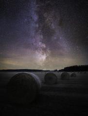 Under the stars (Danne Rydgren) Tags: astrophotography astro milky way night nightphoto longexposure landscape starrynight northern lights stars hey nightscape