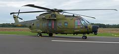 Denmark - Air Force Agusta-Westland EH-101 Merlin Mk.512 M-502 (EK056) Tags: denmark air force agustawestland eh101 merlin mk512 m502 kleine brogel base ebbl belgian days 09092018