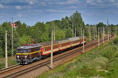 EU07-078 (Andrzej Szafoni) Tags: eu07 eu07078 pafawag 4e poland polska railroad railway train locomotive electric przewozyregionalne pr