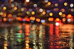 Let it Rain (flashfix) Tags: september102018 2018inphotos flashfix flashfixphotography ottawa ontario canada nikond7100 40mm macro bokeh lights wet puddle rainydayfun 2minutemacro texture light stilllife colours colourful citylights