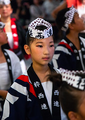 Japanese children during the Koenji Awaodori dance summer street festival, Kanto region, Tokyo, Japan (Eric Lafforgue) Tags: artscultureandentertainment asia awadancefestival awaodori capitalcities celebration children colorimage cultures dancing event girlsonly groupofpeople headwear japan japan18432 japaneseculture kantoregion koenjiawaodori koenjiren night outdoors performance performancegroup performer photography ren street tokyo traditionalclothing traditionalfestival traveldestinations vertical yukata jp