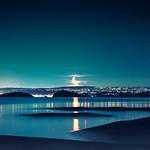 Moonrise over Oslo thumbnail