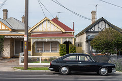 Seddon (Westographer) Tags: seddon melbourne australia westernsuburbs suburbia parked streetscape vw 1600 volkswagen volkswagen1600 houses homes vwtype3 volkswagentype3 australiansuburbia
