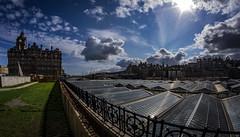 Edinburgh Balmoral 1b (Bilderschreiber) Tags: edinburgh balmoral waverley scotland schottland fisheye weitwinkel wideangle clouds wolken hotel