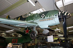 C.4K-170   HA-1112-M1L restaurado a Me-109G-6  Sinsheim 23-04-16 (Antonio Doblado) Tags: c4k hispanoaviación ha1112 me109 bf109 sinsheim museo museum aviación aviation aircraft airplane