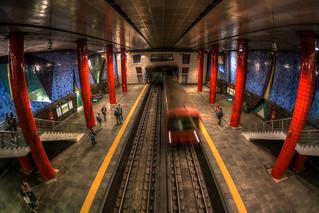 Chelas Metro station, Lisbon