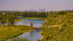 Calgary (kensparksphoto) Tags: calgary fishcreekpark bowriver canada canonfd50mmf35macro alberta landscape