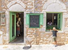 Aeropoli, Mani, Greece. (athanasakisgia) Tags: areopoli mani greece tavern child