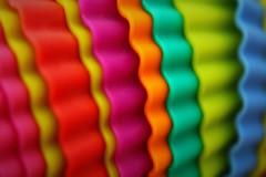 Macro Mondays - Colored waves (Caméléo) Tags: bleu blue vert green jaune yellow orange rose pink rouge red waves multicolor cupcakes macromondays colors multicolour macro