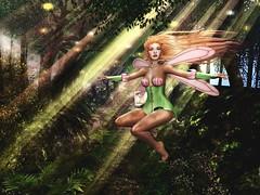 Impulsive Spirit's Pressed Fairy Collection # 5 (impulsive.spirit) Tags: secondlife fairy fae slavatar faery deepintheforest storybrookforest
