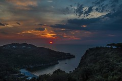 San Montano sunset (Nunzio Pascale) Tags: sunset allsunset redsunset sunsettime baiadisanmontano sanmontano baia tramonto travelling