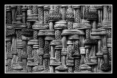 City textures (gro57074@bigpond.net.au) Tags: wovenropeconcrete wovenrope rope architecture concrete f35 50mmf14 artseries sigma d850 nikon marketstreet cbd sydney blackwhite bw abstract abstraction texture textures