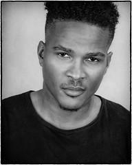 Joshua (drpeterrath) Tags: portrait people model actor celbrity man dude male africanamerican canon eos5dsr 5dsr profoto studio bw blackwhite