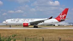 G-VMIK (AnDyMHoLdEn) Tags: virgin virginatlantic a330 egcc airport manchester manchesterairport 23l