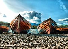 A boat trip to nowhere ! (Explored) (CJS*64) Tags: craigsunter cjs64 panasonic panasoniclx100 colour colours derwentwater keswick boats ashore beached